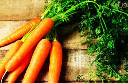 جلوگیری از سرطان و هویج