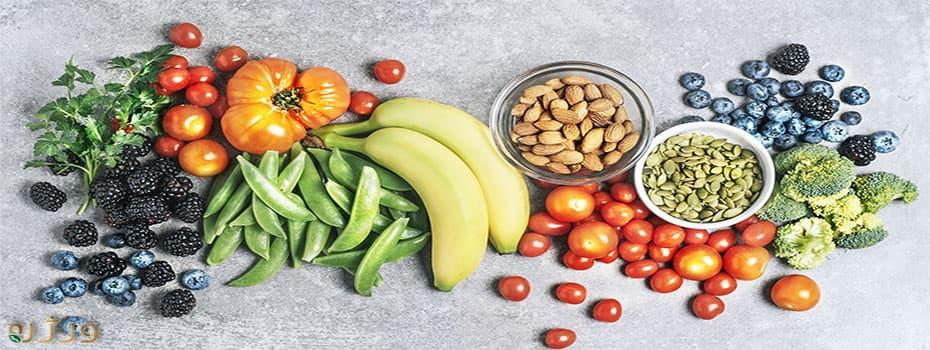 سبزیجات و رژیم کاهش وزن