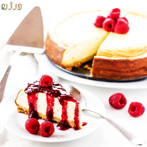 چیز کیک کیک پنیر