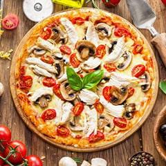 پیتزا مرغ ایتالیایی